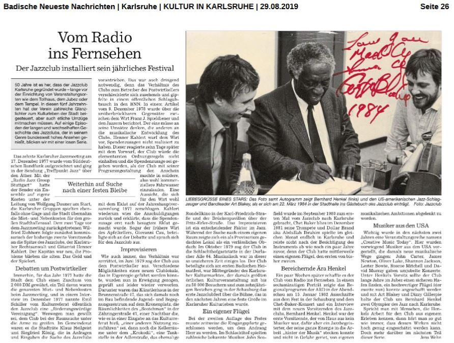 BNN Vom Radio ins Fernsehen
